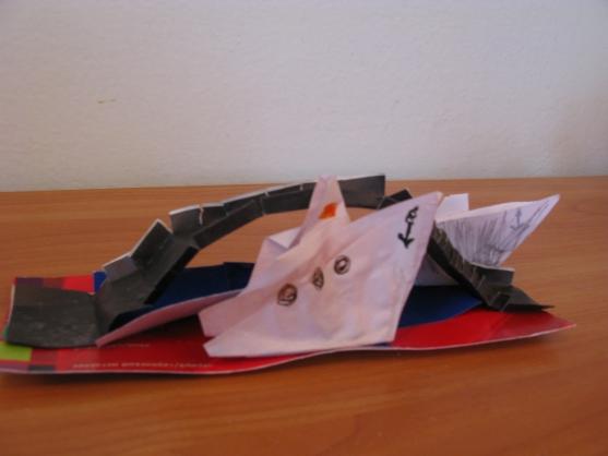 Мост из бумаги поделки 42