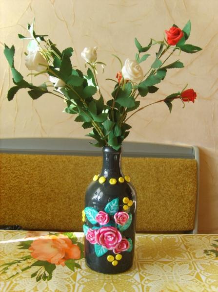 Мастер класс вазы 4