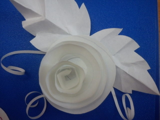 Поделки из бумаги белой своими руками без клея