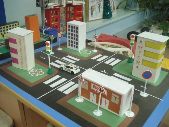 Макет улицы своими руками для детей