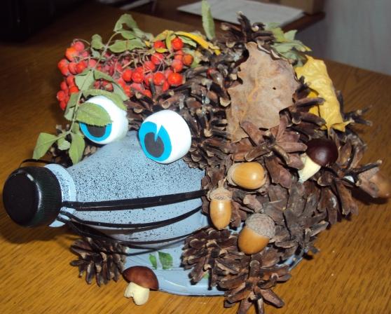 Поделки из подручных на тему осень для детского сада