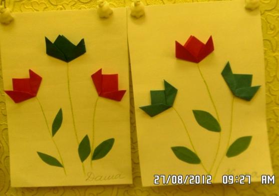 151Оригами в средней группе и бумаги
