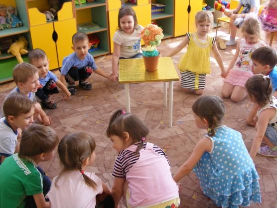 знакомство с глобусом в детском саду
