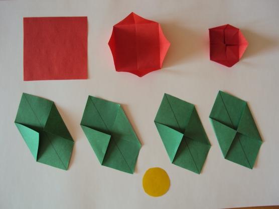 Мастер класс воспитателя своими руками по оригами