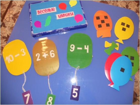 знакомство дошкольников с арифметическими действиями сложение вычитание
