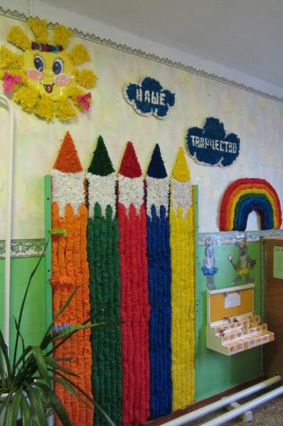 Оформить своими руками уголок творчества в детском саду своими руками