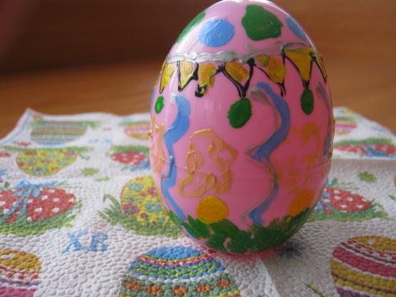 Пасхальное яйцо для детского сада своими руками