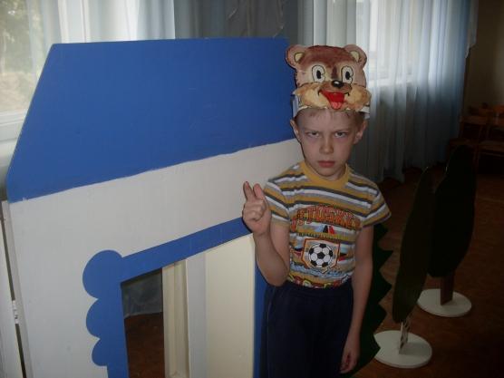Сказка-инсценировка «Мишка на посту»,  для детей старшего дошкольного возраста.
