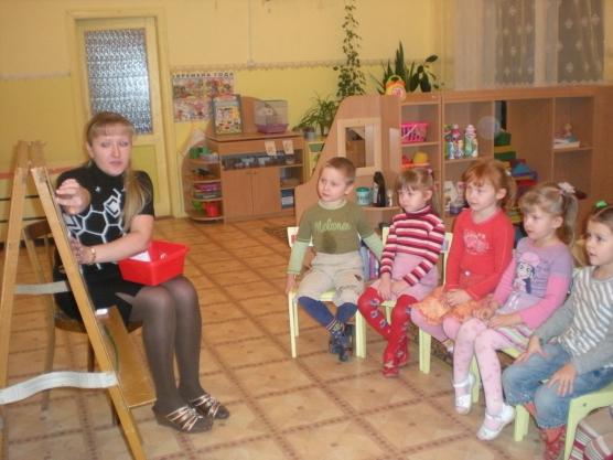конспект занятия знакомство детей с кругом