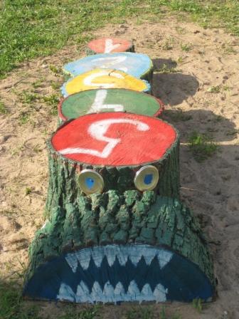Оформление для детского сада на участок своими руками фото