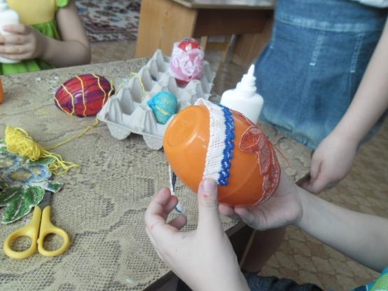 Пасхальное яйцо в детский сад своими руками 34