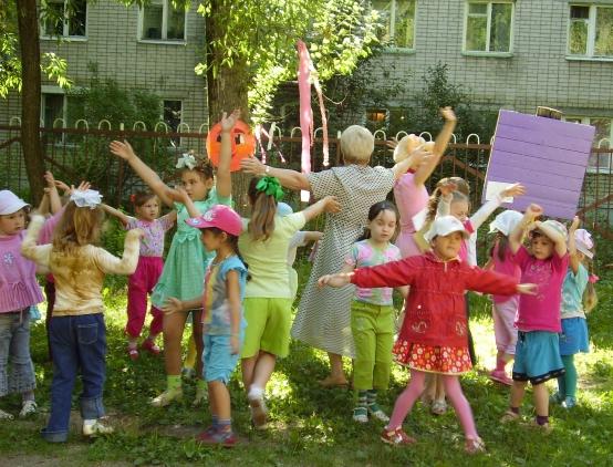 Сценарии летних развлечений на улице в доу
