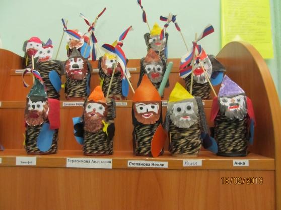 Богатыри поделки для детского сада