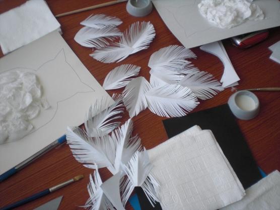 Что такое бумагопластика поделки