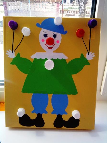 Клоун своими руками фото
