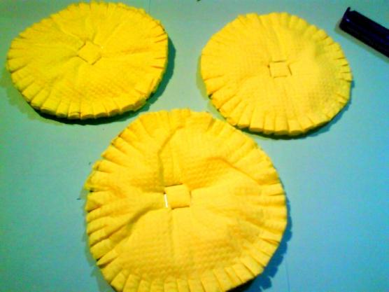 Как сделать одуванчик из салфетки