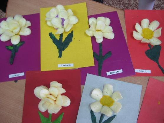 Цветы для детского сада поделки