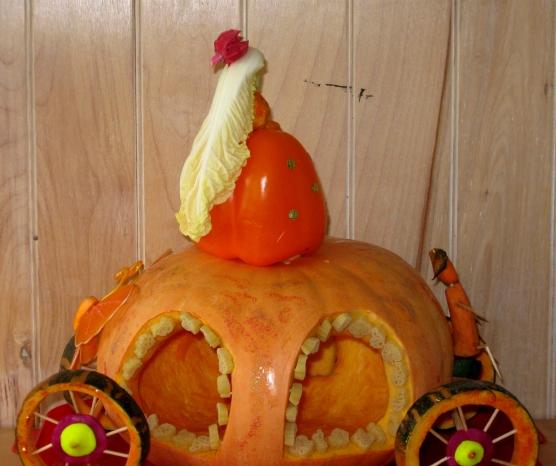 Подделки в детский сад на тему осень из овощей своими руками 13