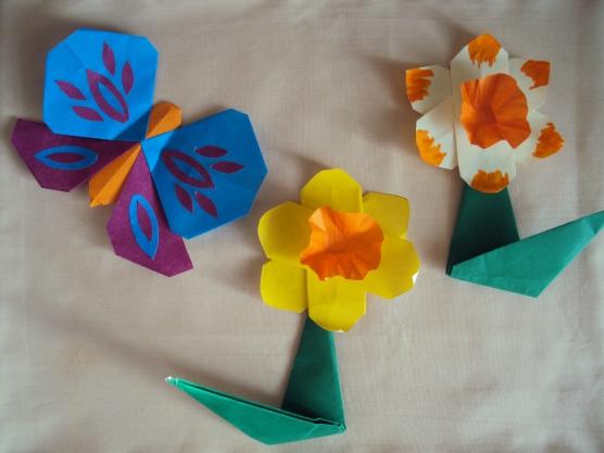 работы «Волшебное оригами»