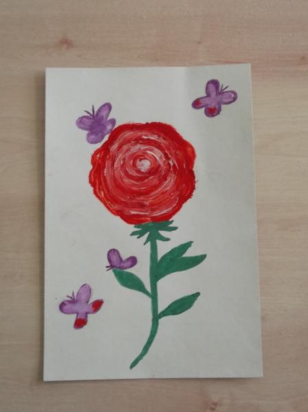 Месяцем рождения, открытка к 8 марта рисование в старшей группе