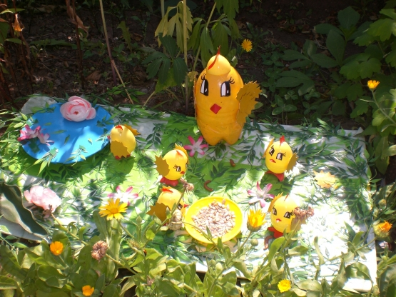 Участки детского сада оформление летом картинки