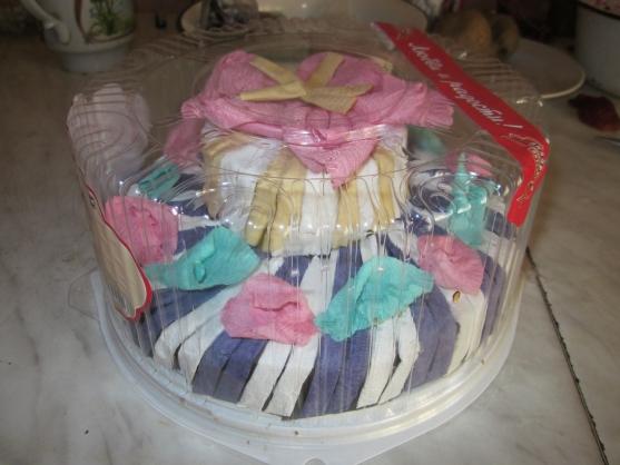 Торт из салфеток пошаговое