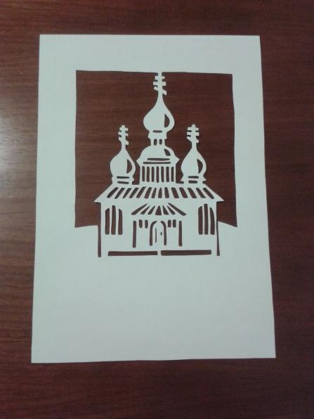 том как сделать открытку бумажный туннель на рождество такое