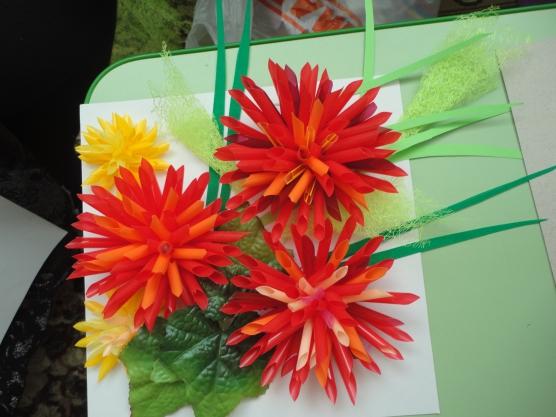 Цветок из трубочек для коктейля своими руками для детей 32
