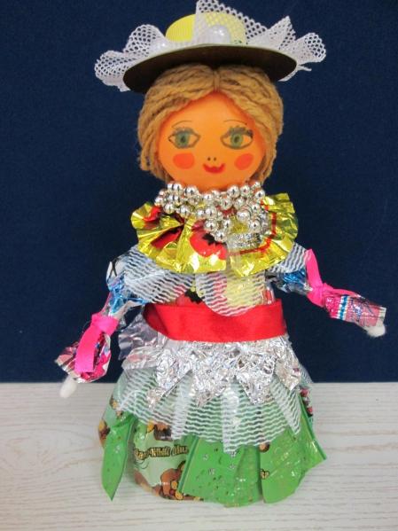 Кукла из бросового материала своими руками 18
