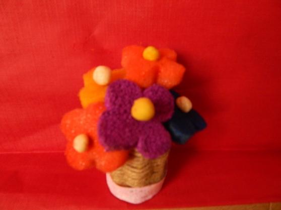 Мастер-класс «Корзинка с цветами» из