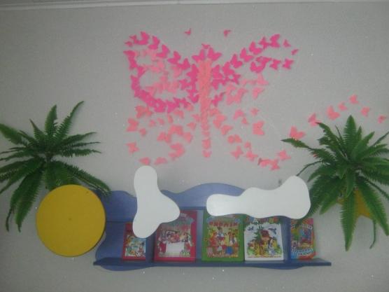 Оформление группы «Бабочки»
