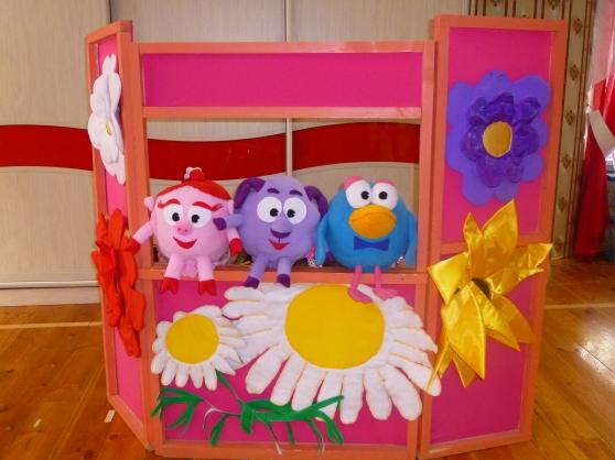 Настольный кукольный театр в детском саду своими руками фото 24
