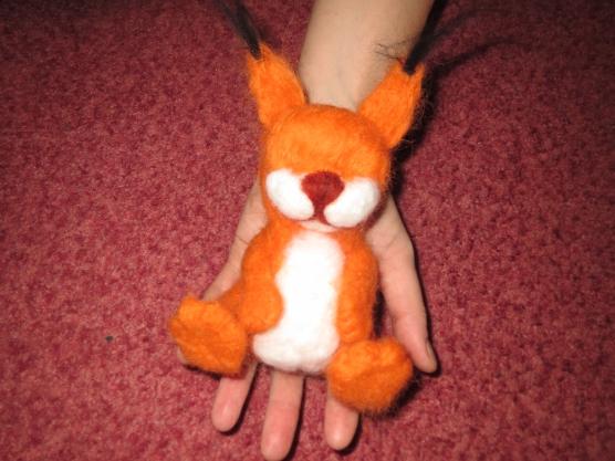 Мягкие игрушки белочка своими руками 12