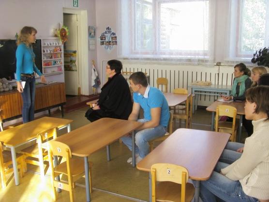 родительское собрание в старшей группе у знакомство