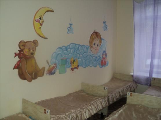 Оформление стены в спальне детского сада своими руками фото