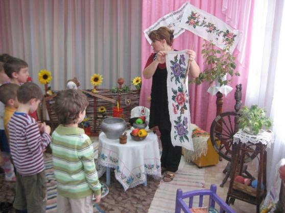 знакомство детей с родным краем в детском саду
