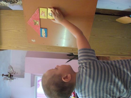 Логопедическая игра «Построй домик»