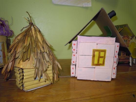 Детские поделки дома