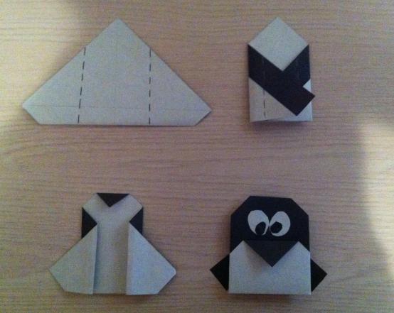 Схема простая, но пингвинчик