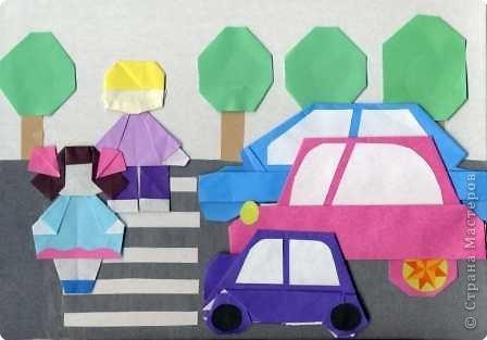 знакомство правилами уличного движения