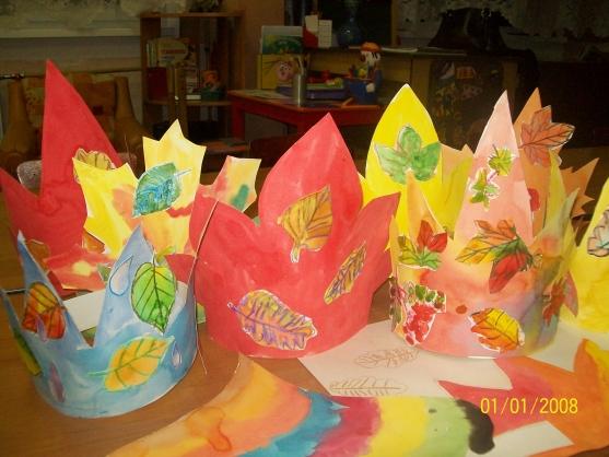 картинки для детей королева осень