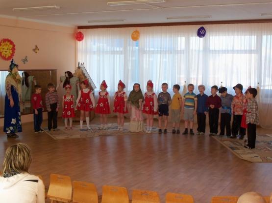 Сценарий праздника в подготовительной к школе группе «Масленицу встречаем, всех блинами угощаем!»