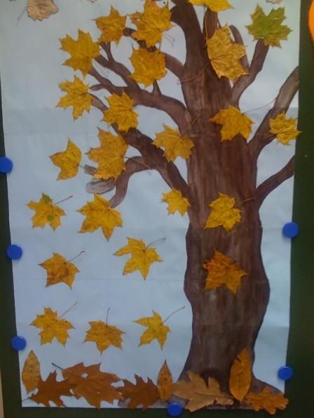 Работа из листьев своими руками