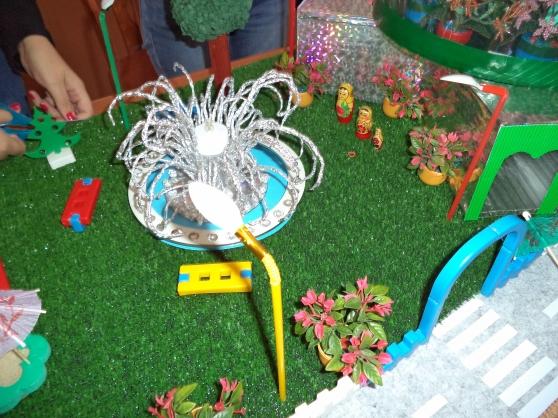 Макет сада своими руками