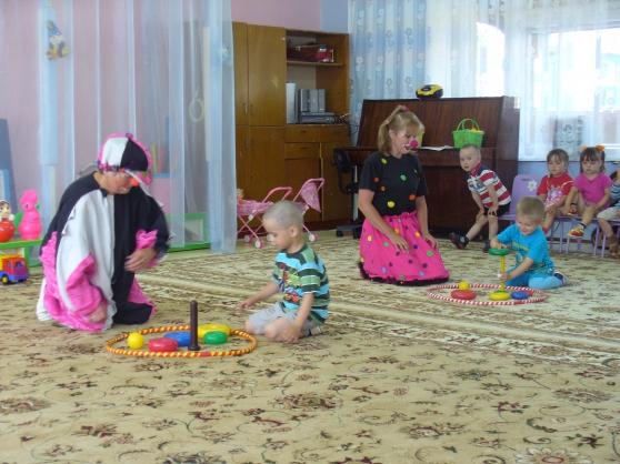 знакомство с детским садом в 1 младшей группе