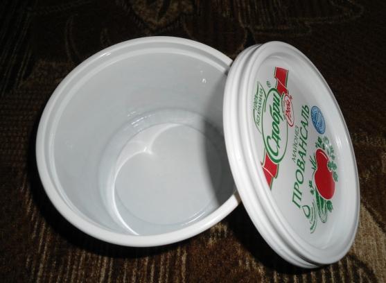 Поделки из банок для майонеза