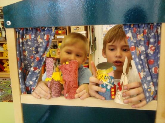 Театр на столе из конусов своими руками - Для воспитателей детских садов - Маам.ру
