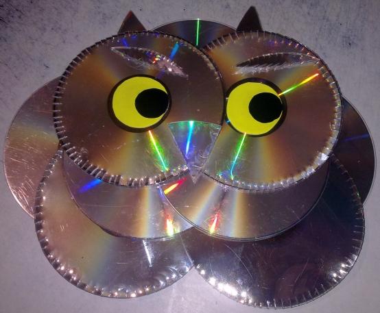 поделки из дисков сд 4 класс