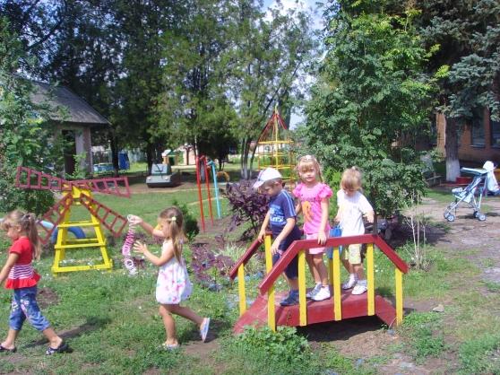 Детский мостик в детский сад