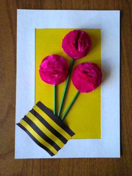 Открытки своими руками детям 3 лет к празднику 1 мая, для открыток новым